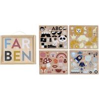 Kindsgut Holzpuzzle-Set Farben