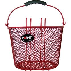 Point 5107600 Fahrradkorb Rot