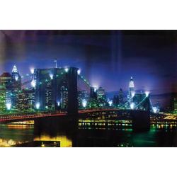 Heitronic Bridge 34010 LED-Bild Bridge LED Kaltweiß Bunt