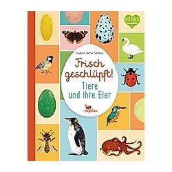 Frisch geschlüpft! - Tiere und ihre Eier. Eva Bártová  Markéta Nováková  Blanka Sedláková  - Buch
