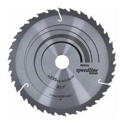 Bosch Kreissägeblatt Speedline Wood 235 x 30/25 x 2,4 mm 30