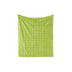 Foulard Gemütlicher Plüsch für den Innen- und Außenbereich, Abakuhaus, Cactus Print Repetitive Topfpflanzen 175 cm x 230 cm
