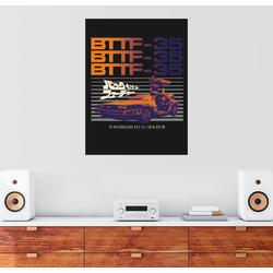 Posterlounge Wandbild, DeLorean Fluxkondensator-Antrieb 70 cm x 90 cm