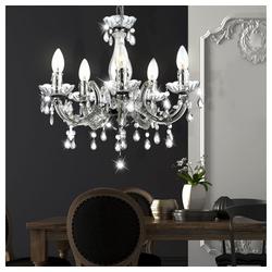 etc-shop Kronleuchter, Hängeleuchte Hängelampe Kronleuchter Beleuchtung Lampe Leuchte 6311_Variante
