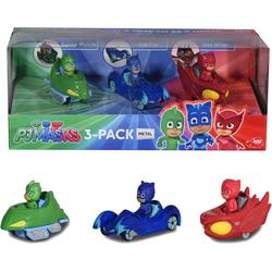Dickie Toys Spielzeug-Auto PJ Masks 3-Pack, (Set, 3-tlg)