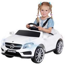 Kinder Elektroauto Mercedes GLA45 Kinderauto Elektrofahrzeug Elektro Spielzeug (Rot)