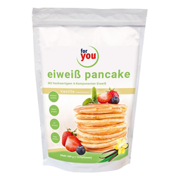 For you Eiweiß Pancakes Vanille Pulver