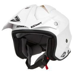 Kenny Trial-Helm Trial Air Weiß