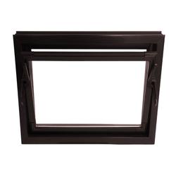 ACO Severin Ahlmann GmbH & Co. KG Kellerfenster ACO 60cm Nebenraumfenster Kippfenster Isoglasfenster Fenster braun Kellerfenster, wärmeisolierende Kunststoff-Hohlkammerprofile 60 cm x 50 cm