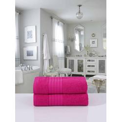 good morning Handtücher pink, Trocknergeeignet rosa