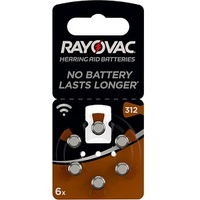 Varta RAYOVAC Knopfzellen 312 1,45 V