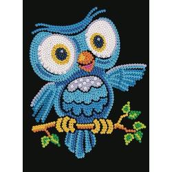 Sequin Art Junior - Paillettenbild - Eule Ozzy 8011403