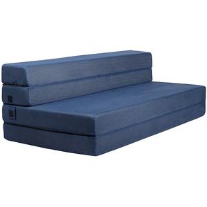 Milliard Schaumstoff Faltbare Gästematratze/Gäste Klappmatratze und Dreifachfaltung Sofabett/Sesselbett für Gäste (135x190x11.5cm)