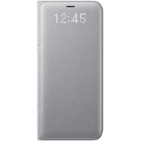 Samsung LED View Cover EF-NG950 für Galaxy S8 silber