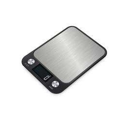 Sross Küchenwaage Küchenwaage mit LCD-Display bis 10kg