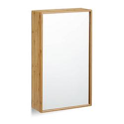 relaxdays Spiegelschrank braun