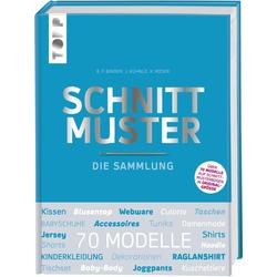Schnittmuster. Die Sammlung. Mit 8 Schnittmusterbogen in praktischer Tasche. als Buch von frechverlag