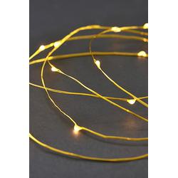 House Doctor Lichterkette 80 Lampen 10m Messing