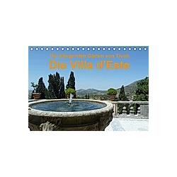 Die hängenden Gärten von Tivoli - Die Villa d'Este (Tischkalender 2021 DIN A5 quer)