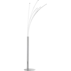 WOFI Linee 3194.05.01.6000 LED-Stehlampe 36W Chrom