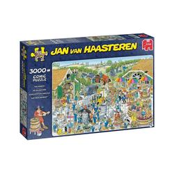 Jumbo Spiele Puzzle Jumbo 19198 Auf dem Weingut 3000 Teile Puzzle, 3000 Puzzleteile