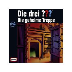Die drei ??? 138: Geheime Treppe - (CD)