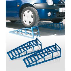 Auffahrrampen, 2 t, Reifenbreite bis 225 mm, 2 Stück