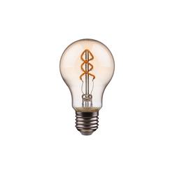 BUTLERS Tischleuchte BRIGHT LIGHT LED-Glühbirne A60