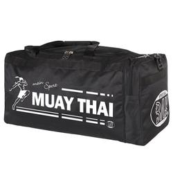 BAY-Sports Sporttasche Sporttasche mein Sport Muay Thai Thaiboxen schwarz