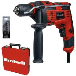 Einhell Schlagbohrmaschine TC-ID 720/1 E Kit, (Set, 3-tlg)