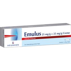EMULUS 25 mg/g + 25 mg/g Creme