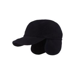 Breiter Baseball Cap mit Ohrenschutz und Teflon-Beschichtung blau 59