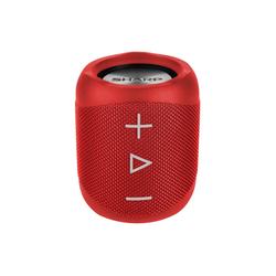 Sharp GX-BT180 Kabelloser Lautsprecher Bluetooth-Lautsprecher (14 W) rot