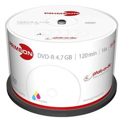 DVD-R, 4.7 GB, 16x, bedruckbar, 50er-Box