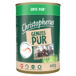 (5,83 EUR/kg) Christopherus Pur Ente 400 g - 6 Stück