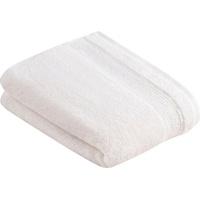 VOSSEN Duschtuch Balance (1-St), antibakteriell durch Hanf weiß 67 cm x 140 cm