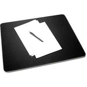 SIGEL SA106 Schreibunterlage Eyestyle aus hochwertigem Leder-Imitat, schwarz / weiß
