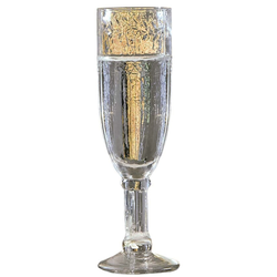 Sektglas, (Set, 6 tlg.), Recycling-Glas, 6-teilig farblos Sektgläser Champagnergläser Gläser Glaswaren Haushaltswaren Sektglas