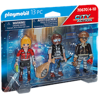 Playmobil City Action Figurenset Ganoven 70670