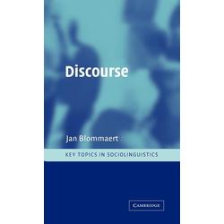 Discourse als Buch von Jan Blommaert/ Blommaert Jan