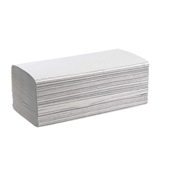 5000 Papierhandtücher 25 x 23 cm, 1-lagig, natur, V-Falz