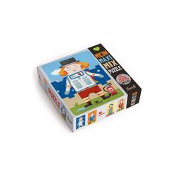 Magellan Puzzle Mein Maxi-Mix-Puzzle - Berufe, 24 Puzzleteile, Hergestellt in Europa