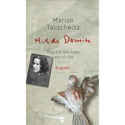 Hilde Domin als Buch von Marion Tauschwitz