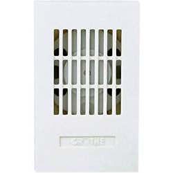 Grothe 24081 Klingel 8V (max) 85 dBA Weiß