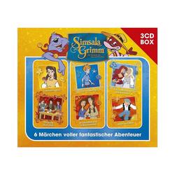 Universal Hörspiel CD SimsalaGrimm - 3CD Hörspielbox Vol.3