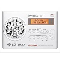 Sangean DPR-69+ weiß