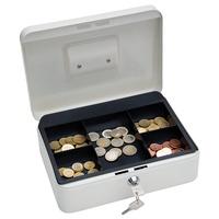 Wedo Geldkassette 25,0x18,0x9,0cm weiß