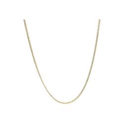 Luigi Merano Goldkette Erbskette, massiv, Gold 585