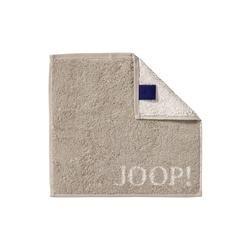 JOOP! Seifenlappen Joop! Classic Doubleface in sand, 30 x 30 cm