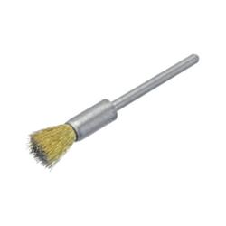 Pinselbürste / Miniaturbürste Messing 0,10 Ø5x3 VPE: 12